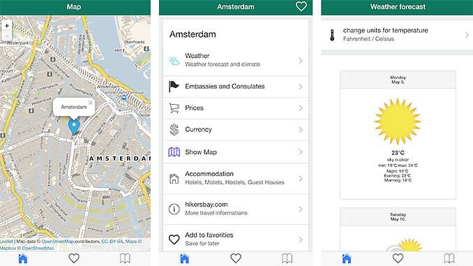 Amsterdam Offline Kaart Reisgids App