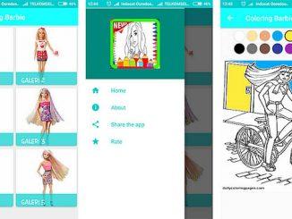 Barbie Kleurplaten App