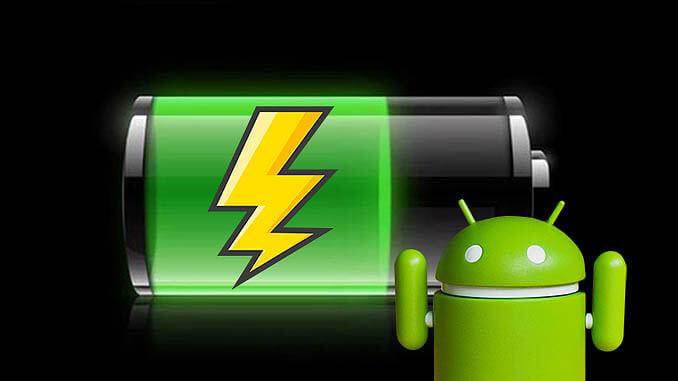 Batterij opladen van smartphone of tablet
