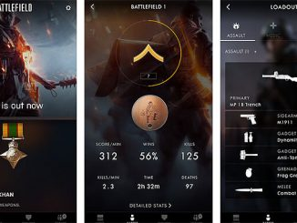Battlefield Companion App