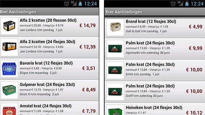 Bier Aanbiedingen App