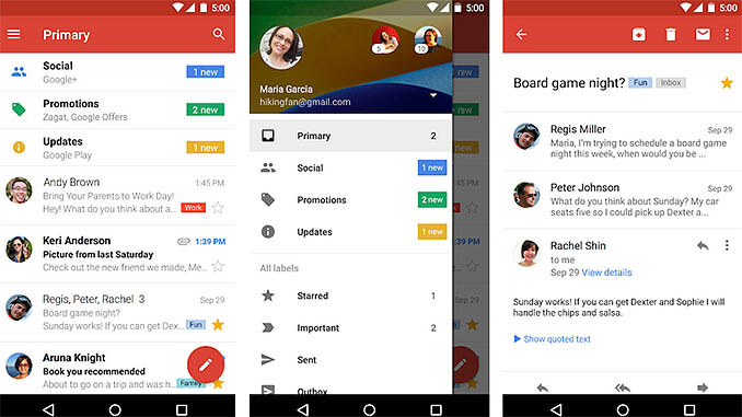 Google Gmail App