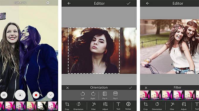 PicCam Perfect Selfie Camera App
