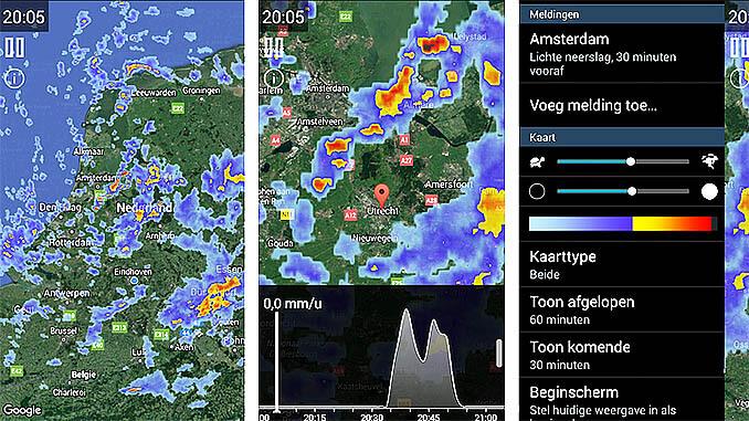 Regenmelding App