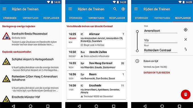 Rijden de Treinen App