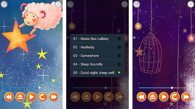 Slaapliedjes App