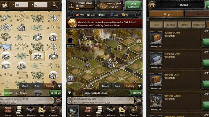 The Hobbit Kingdoms of Middle Earth App