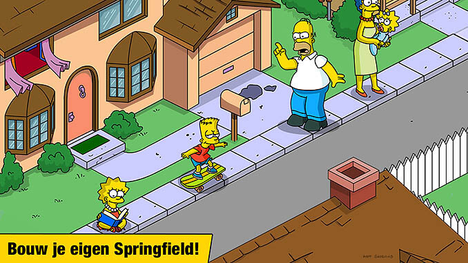 The Simpsons: Tapped Out App
