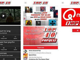 Top 40 muziek App