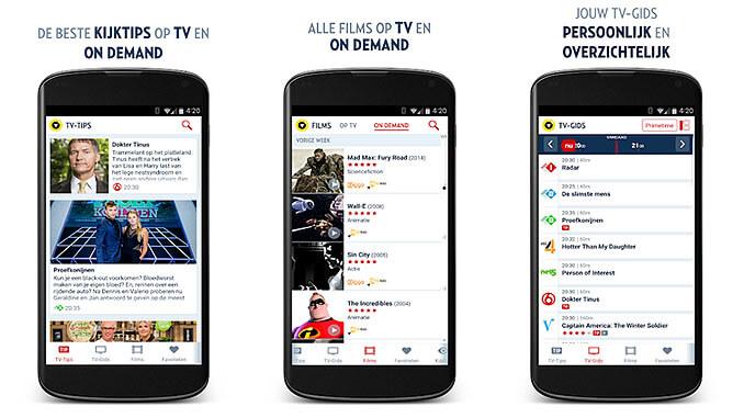 Veronica Superguide TVgids app