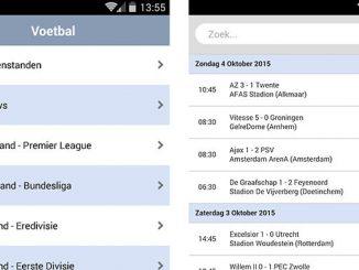 Voetbal Uitslagen Eredivisie App