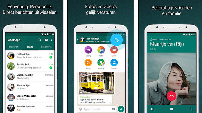 WhatsApp Messenger App