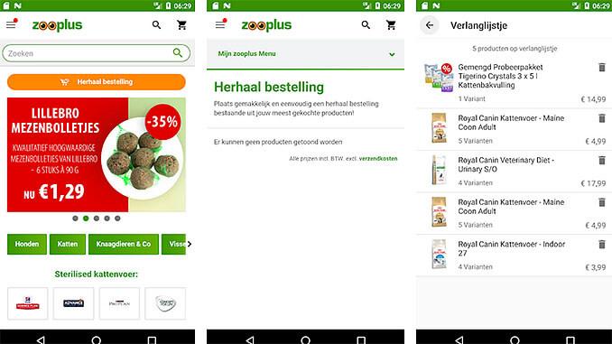 Zooplus.NL App