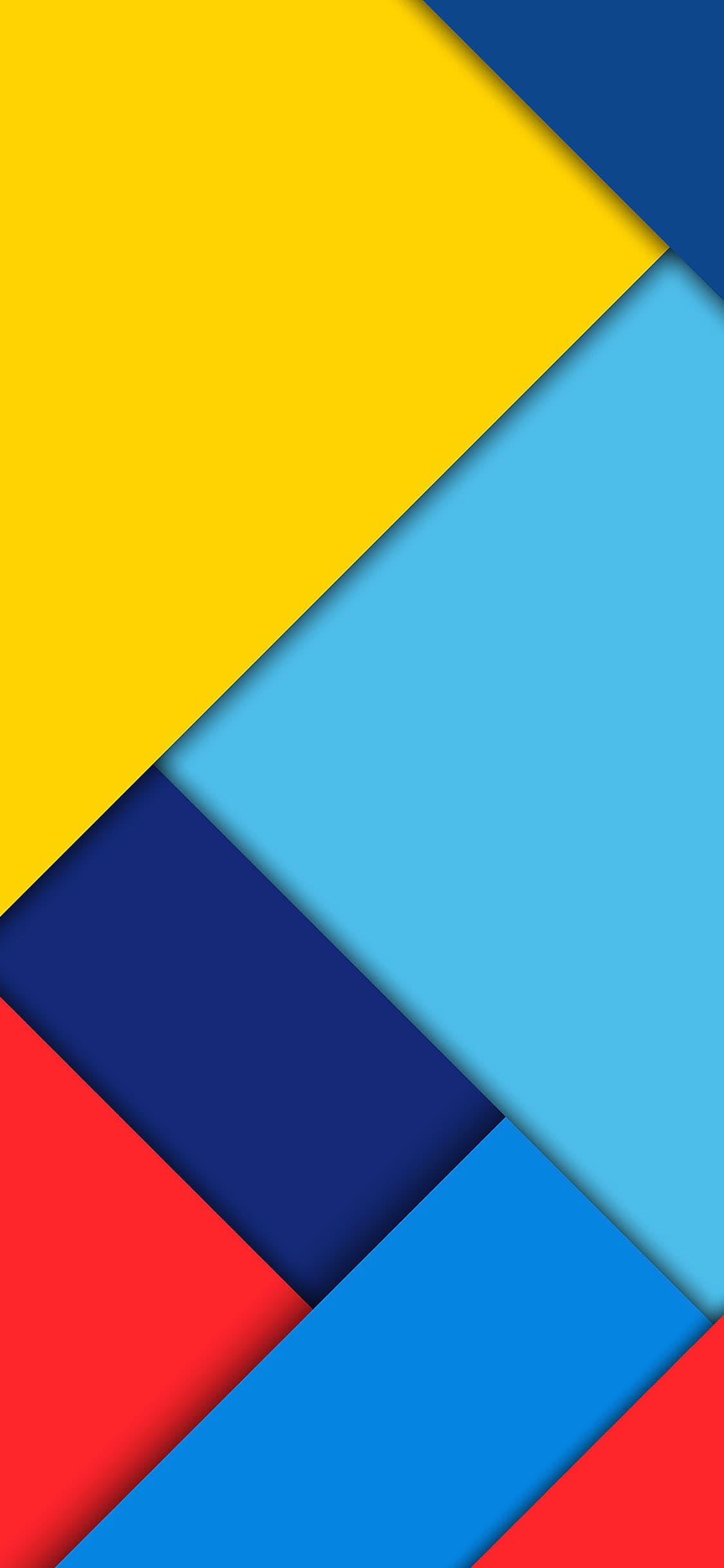 Kleurrijke abstrace iPhone X wallpaper