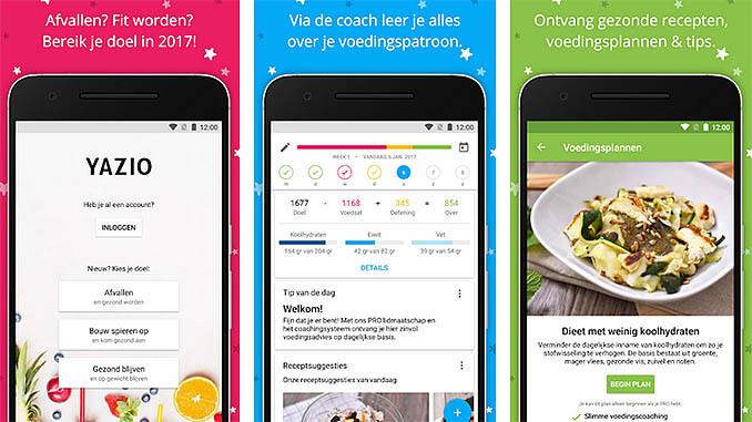 YAZIO Calorieënteller App